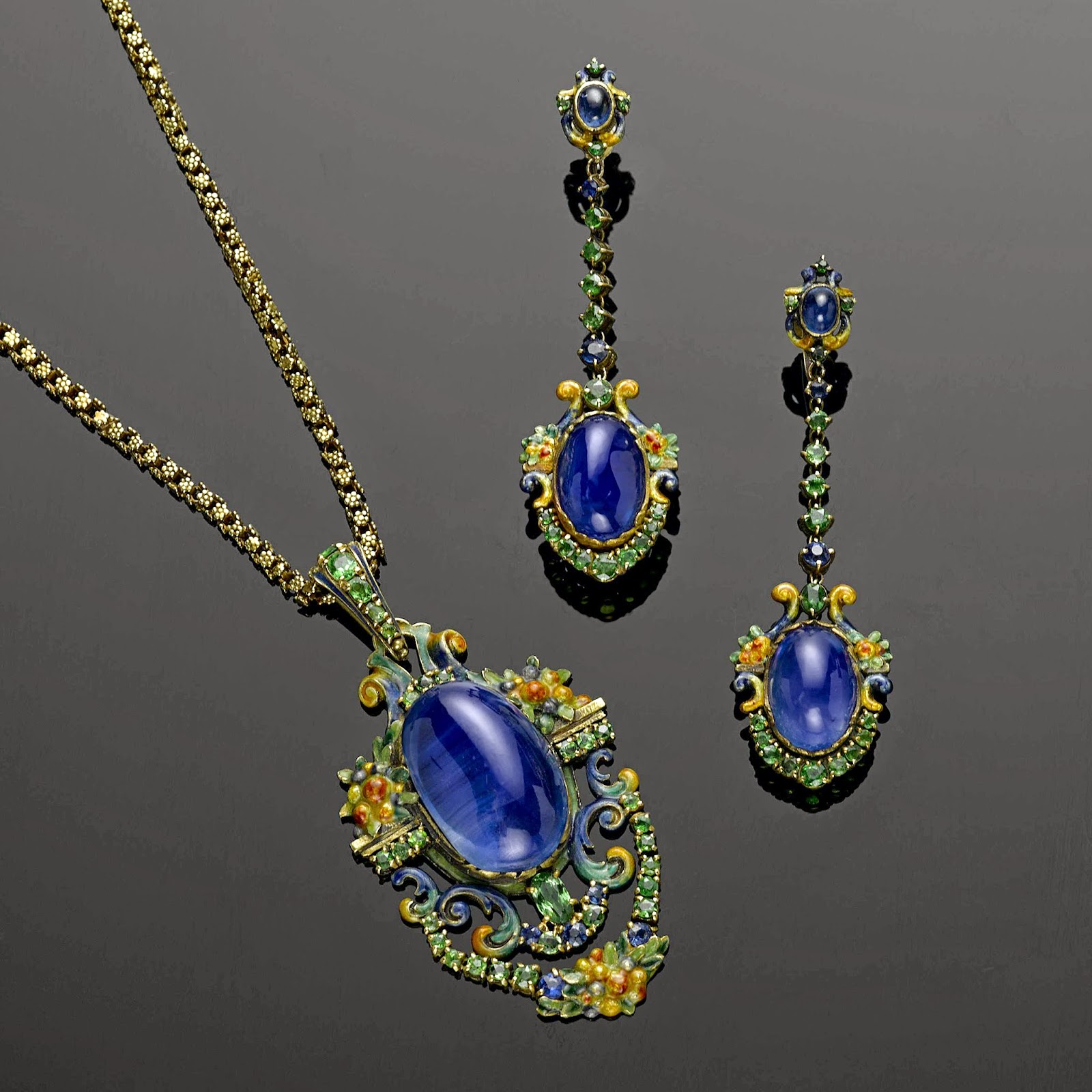 Louis Comfort Tiffany Jewelry