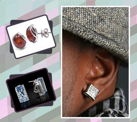 8 Types Of Fashion Earrings For Men Only Best Jewelry