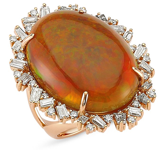 ZDNY large opal ring | JCK On Your Market