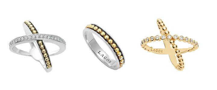 Minimalistic fashion rings